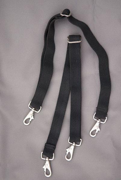Beingurt elastisch mit Karabinerhaken - 1 Paar