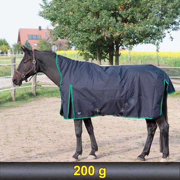 OUTDOORDECKE+HIGHNECK 75 gr Füllung 125 cm Chinagreen *1200 D